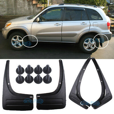 4X Mud Flaps Splash Guard Protector Fender Mudguard For 2001-2006 TOYOTA RAV4