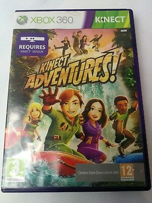 RARE Xbox 360 Kinect Adventure! GAME TESTED