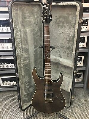 Fernandes Electric Guitar W/ Hard Shell Case Awesome color!