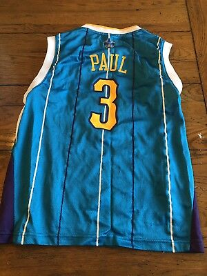 f6f699788 Chris Paul New Orleans Hornets Vintage NBA Basketball Jersey Adidas Youth M