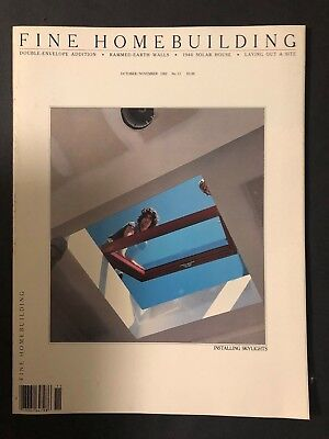 Fine Homebuilding October/November 1982  No. 11  Installing Skylights