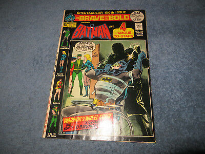 Brave and Bold 100 DC Comics Bronze VG/FN