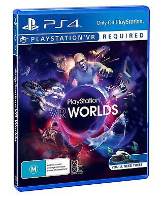 PlayStation VR Worlds PlayStation 4 PS4 PS VR GAME BRAND NEW FREE POSTAGE