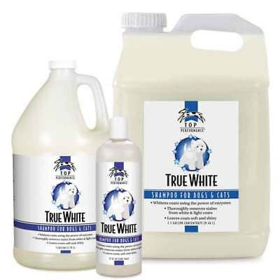 True White Whitening Professional Dog Grooming Shampoo Concentrate Choose Size