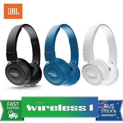 JBL T450BT Wireless Bluetooth On-Ear Headphones // Various Colours