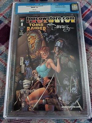 Cgc Graded 9.8 Tomb Raider/darkness #1 Top Cow Store Exclusive!