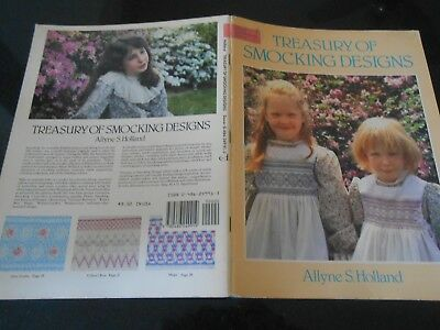 Dover Needlework Series Book * Treasury Of Smocking Designs By Allyne S. Holland