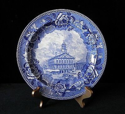Wedgwood FANEUIL HALL CRADLE OF LIBERTY PLATE England