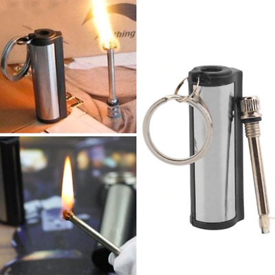 MFG Permanent Match Keychain Emergency Lighter Waterproof Outdoor Survival Tool