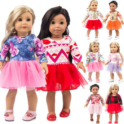 US Doll Clothes Dress Outfits Pajames For 18 inch American Girls Our Generation