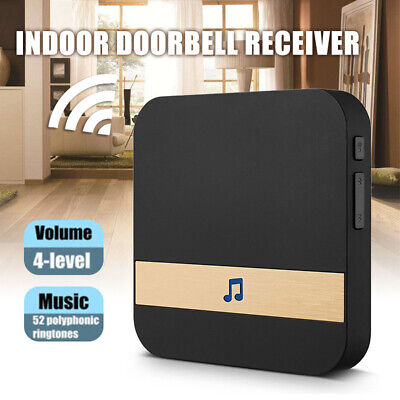 Home Door Dingdong Chimes Ding-dong Wireless WiFi Doorbell Receiver AC 90V-250V