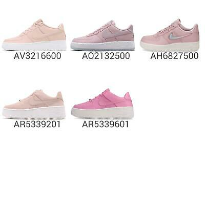 new york 99ae6 4ed95 Nike Wmns Air Force 1 07 ESS   LV8   Sage Low Pink Women Kids GS