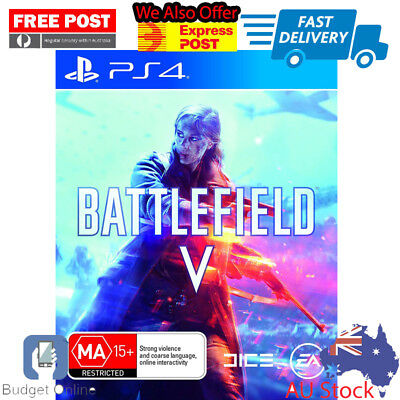 Sealed Playstation 4 PS4 Battlefield v 5 first person shooter Console Game