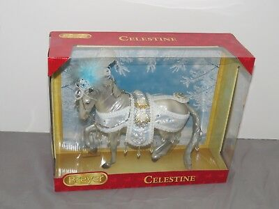 Breyer NEW Celestine Christmas Holiday Lipizzaner Traditional Horse 2018 Free Sh