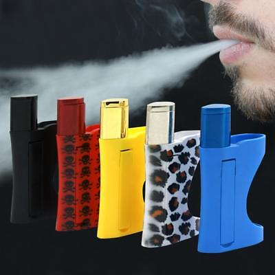 Creative Lighter Smoke Tobacco Smoking Pipe Pocket Herb Pipes gift.