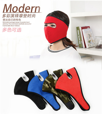 Unisex Winter Warm Mouth Anti-Dust Flu Face Mask Surgical Respirator Mask New CG