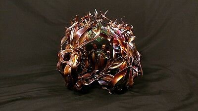Rare Copper Sculpture #1523 Transcendence Steampunk Zen Metaphysical Christmas