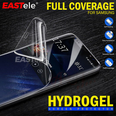 3x Samsung Galaxy S9 S8 Plus Note 9 EASTele HYDROGEL AQUA FLEX Screen Protector