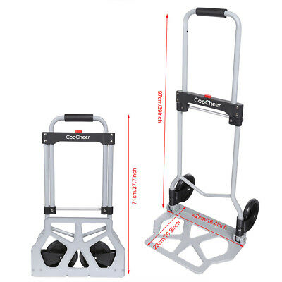 Aluminium Cart Folding Dolly Push Truck Hand Collapsible /Hand Truck