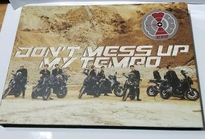 EXO The 5th Album 'DON'T MESS UP MY TEMPO'(MODERATO Ver.) CD only [UNSEALED]