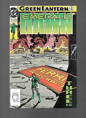 Green Lantern: Emerald Dawn #3 (Feb, 1990) by Kieth Giffen Hal Jordan VF/NM 9.0