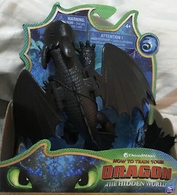How to train your dragon 3: The Hidden World Basic Figure Toothless Black Gift