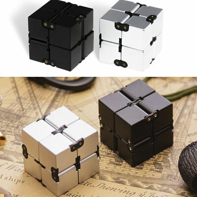 Lot* Luxury EDC Infinity Cube For Stress Relief Fidget Anti Anxiety Stress Funny