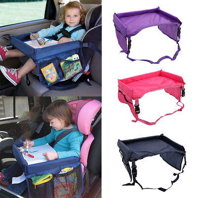 Portable Baby Children's Snack Play Tray for Car Seat Plane Toddler Travel