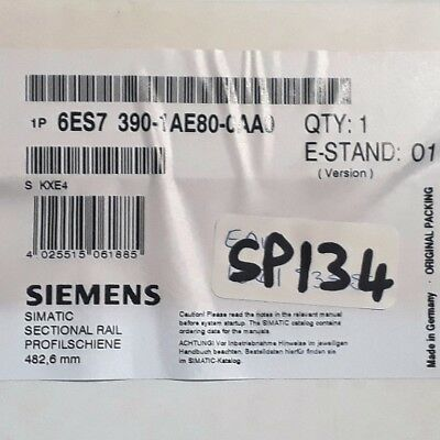 **NEW** Siemens 6ES7390-1AE80-0AA0 , SIMATIC S7-300, mounting rail,
