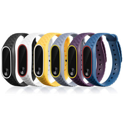 Silicone Sport Wrist Watch Band Bracelet Strap Replacement Bands For Xiaomi Mi 2