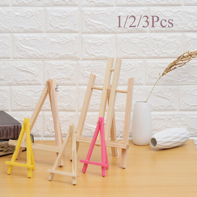 Party Decor Artist Painting Stand Artwork Shelf Wooden Easel Display Holder