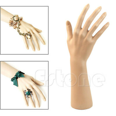 1Pc Nail Art Fake Model Watch Ring Bracelet Gloves Stand Display Mannequin Hand