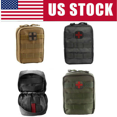 Outdoor Emergency Bag Tactical Military  Medical Utility First Aid Pouch Bag