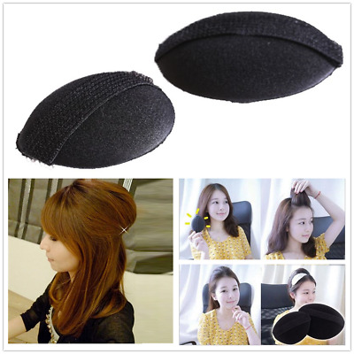 Hair Volume Boost Invisible Sponge Base Fluffy Bump Up Puff Insert Pad Black