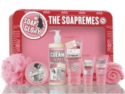 Soap and Glory The Soapremes Gift Set Brand New Sealed