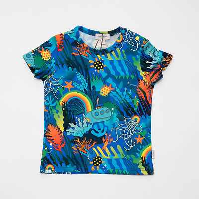 "T-Shirt Sea Multicolor Baby Kids (Sizes 12/18/24M) ""paul Smith"" 5N10501 Ss 2019"
