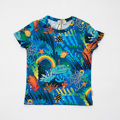 "T-Shirt Sea Multicolor Baby Kids (Sizes 12/18M) ""Paul Smith"" 5N10501 Ss 2019"