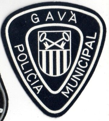 ecusson ESPAGNE GAVA POLICE spain police patch