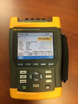 Fluke 434 Power Quality Analyzer (USED)