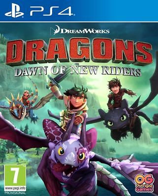 DreamWorks Dragons Dawn of New Riders (PS4) In Stock Now Brand New & Sealed