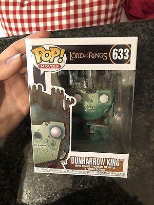 Dunharrow King Funko Pop Lord Of Rings New 633 + Pop Protector
