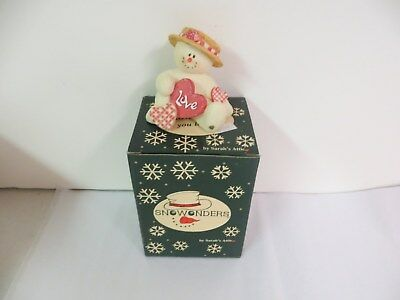 """Snowonders by Sarah's Attic You Love Me Series February - """"Valentino""""  #6401"""