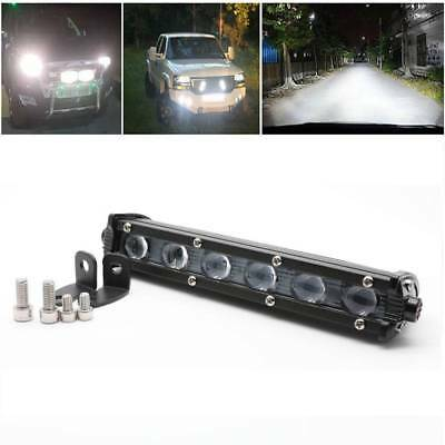7inch 60W Single Row Spot Beam LED Work Light Bar Car SUV Off road Truck Lamps