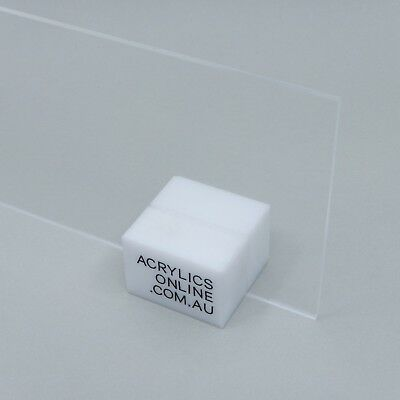 Acrylic Clear Perspex 300x300x3mm CAST Sheet UV stabled FAST N FREE SHIPPING
