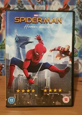 Marvel Spider-Man Homecoming DVD Region 2