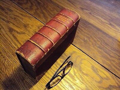 Leather-bound antique Haydn's Dictiopnary of Dates 1881
