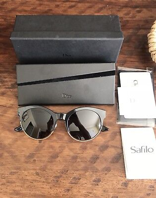 AUTHENTIC DIOR SIDERAL 1 S Black Sunglasses J63Y1  NEW  -  279.95 ... 9957a21bad