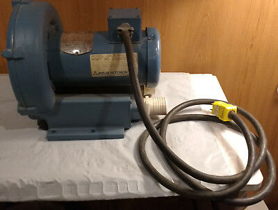 EG&G Rotron DR303AE9 Regenerative Blower, Single Phase, With Cord, 3450 RPM