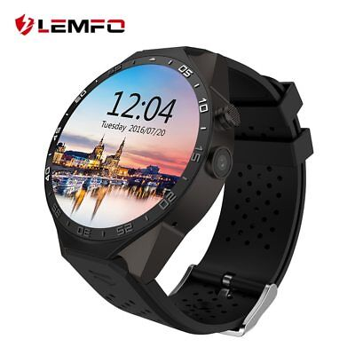 LEMFO KW88 Smart Watch Android Smartwatch Heart Rate Monitor Android GPS Camera