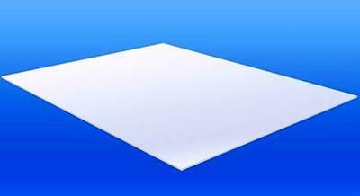 A4 Size Acrylic Solid White 210 x 297 x 3mm Cast Sheet White FREE POST